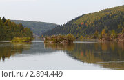 Река Вишера (2011 год). Редакционное фото, фотограф Павел Спирин / Фотобанк Лори