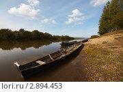 Лодки - северянки. Стоковое фото, фотограф Павел Спирин / Фотобанк Лори