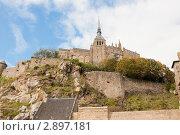 Купить «Мон-Сен-Мишель. Нормандия. Франция», фото № 2897181, снято 7 октября 2011 г. (c) Екатерина Овсянникова / Фотобанк Лори