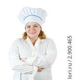 Купить «Женщина повар», фото № 2900465, снято 15 октября 2011 г. (c) Яков Филимонов / Фотобанк Лори