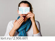Купить «Нарисованные эмоции», фото № 2906601, снято 17 февраля 2019 г. (c) Сергей Петерман / Фотобанк Лори