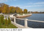 Калининград. Осенняя набережная (2011 год). Стоковое фото, фотограф Svet / Фотобанк Лори