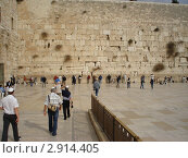 Израиль. Иерусалим. Стена Плача (2009 год). Стоковое фото, фотограф Александр Карябин / Фотобанк Лори