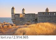 Купить «Ени Кале - древняя крепость в Керчи, Крым, Украина», фото № 2914965, снято 20 сентября 2011 г. (c) Нелли Сабитова / Фотобанк Лори