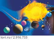 Купить «Вселенная», иллюстрация № 2916733 (c) Ольга Садовникова / Фотобанк Лори