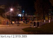 Ночной город Рязань. Детская площадка. Стоковое фото, фотограф Владимир Макеев / Фотобанк Лори