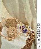 Натуральное ткачество. Стоковое фото, фотограф Никонович Светлана / Фотобанк Лори