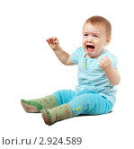 Купить «Плачущая девочка», фото № 2924589, снято 27 октября 2011 г. (c) Яков Филимонов / Фотобанк Лори