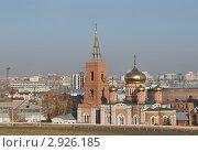 Купить «Церковь женского монастыря в Барнауле», эксклюзивное фото № 2926185, снято 14 октября 2011 г. (c) Free Wind / Фотобанк Лори