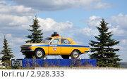 Купить «Памятник милицейскому автомобилю», фото № 2928333, снято 4 сентября 2010 г. (c) Голованов Сергей / Фотобанк Лори