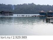 Дома на воде (2010 год). Стоковое фото, фотограф Сергей Воронин / Фотобанк Лори
