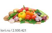 Купить «Различные овощи», фото № 2930421, снято 5 ноября 2011 г. (c) Ласточкин Евгений / Фотобанк Лори