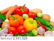 Купить «Различные овощи», фото № 2931029, снято 23 июля 2019 г. (c) Ласточкин Евгений / Фотобанк Лори