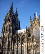 Купить «Кёльнский собор», фото № 2931261, снято 17 февраля 2011 г. (c) Татьяна Крамаревская / Фотобанк Лори