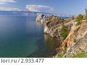 Купить «Байкал, остров Ольхон, мыс Бурхан», фото № 2933477, снято 12 августа 2011 г. (c) Сергей Белов / Фотобанк Лори