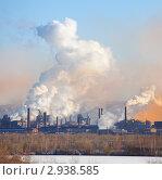 Купить «Металлургический комбинат», фото № 2938585, снято 8 ноября 2011 г. (c) Гладских Татьяна / Фотобанк Лори