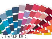 Купить «Таблица цветов RAL», фото № 2941845, снято 8 ноября 2011 г. (c) Сергей Ревич / Фотобанк Лори