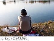 Рыбак. Стоковое фото, фотограф Маргарита Волгина / Фотобанк Лори