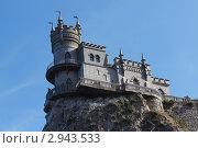 Замок Ласточкино гнездо (2011 год). Стоковое фото, фотограф Павел Спирин / Фотобанк Лори