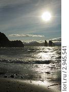 Купить «Скалы Три Брата. Авачинская бухта, полуостров Камчатка», фото № 2945541, снято 4 сентября 2011 г. (c) А. А. Пирагис / Фотобанк Лори