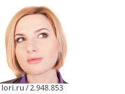 Портрет красивой девушки. Стоковое фото, фотограф Нилов Сергей / Фотобанк Лори