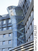 Жилой дом Стольник, Москва, Фрагмент (2011 год). Редакционное фото, фотограф Ульяна Смирнова / Фотобанк Лори