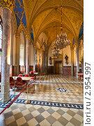 Купить «Романтический интерьер замка Германии», фото № 2954997, снято 13 апреля 2008 г. (c) Миронов Константин / Фотобанк Лори