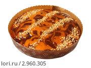 Купить «Сладкий пирог с орехами», эксклюзивное фото № 2960305, снято 27 октября 2011 г. (c) Дмитрий Неумоин / Фотобанк Лори