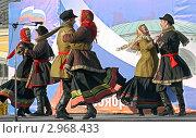 Купить «Народные гулянья на празднике народного единства 4 ноября в Костроме», фото № 2968433, снято 5 ноября 2011 г. (c) Елена Гаврилова / Фотобанк Лори