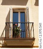 Балкон. Стоковое фото, фотограф Сергей Высоцкий / Фотобанк Лори