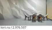 Купить «Интерьер офиса, 3д рендеринг», иллюстрация № 2976597 (c) Юрий Бельмесов / Фотобанк Лори
