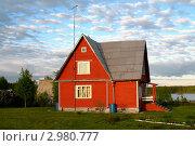 Купить «Дачный домик в Карелии», фото № 2980777, снято 24 сентября 2006 г. (c) Ноева Елена / Фотобанк Лори