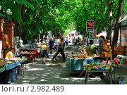 Белокуриха. Рынок сувенирной продукции (2011 год). Редакционное фото, фотограф Александр Тараканов / Фотобанк Лори