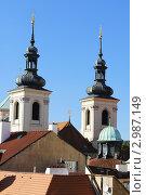 Купить «Крыши сказочного города Прага. Европа. Чехия.», фото № 2987149, снято 2 октября 2011 г. (c) Федор Королевский / Фотобанк Лори