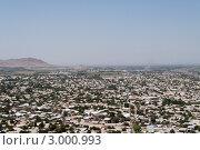 Вид города с Сулейман-горы, Ош, Киргизия (2011 год). Стоковое фото, фотограф Dmitry Lameko / Фотобанк Лори