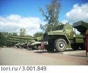 Купить «Музей военной техники, сад Победы, город Челябинск», фото № 3001849, снято 17 августа 2011 г. (c) елена прекрасна / Фотобанк Лори