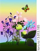 Купить «Полевые цветы», иллюстрация № 3013185 (c) Валентина Шибеко / Фотобанк Лори