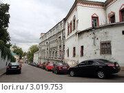 Купить «Москва. Хохловский переулок», фото № 3019753, снято 12 сентября 2011 г. (c) Корчагина Полина / Фотобанк Лори
