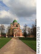 Купить «Бородино. Спасо-Бородинский женский монастырь», эксклюзивное фото № 3025733, снято 7 мая 2011 г. (c) ДеН / Фотобанк Лори