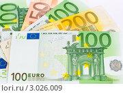 Купить «Европейская валюта и разного достоинства», эксклюзивное фото № 3026009, снято 29 ноября 2011 г. (c) Игорь Низов / Фотобанк Лори