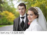 Купить «Осенняя свадьба», фото № 3028685, снято 1 октября 2011 г. (c) Игорь Долгов / Фотобанк Лори