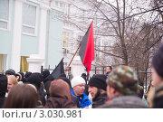 Купить «Петрозаводск, Карелия - митинг у здания Правительства 10 декабря 2011 года», фото № 3030981, снято 10 декабря 2011 г. (c) Павел С. / Фотобанк Лори