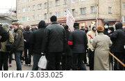 Купить «Митинг в протест выборов в Государственную Думу в Петрозаводске, 10 декабря 2011 года», видеоролик № 3033025, снято 10 декабря 2011 г. (c) Павел С. / Фотобанк Лори