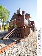 Купить «Старый локомотив», фото № 3039825, снято 11 апреля 2011 г. (c) Яков Филимонов / Фотобанк Лори