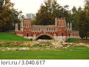 Купить «Москва. Царицыно», эксклюзивное фото № 3040617, снято 27 сентября 2011 г. (c) lana1501 / Фотобанк Лори