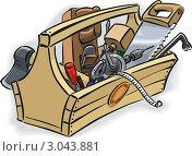 Купить «Ящик с инструментом», иллюстрация № 3043881 (c) Антон Гриднев / Фотобанк Лори