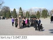 На экскурсии (2011 год). Редакционное фото, фотограф Екатерина Рыбникова / Фотобанк Лори