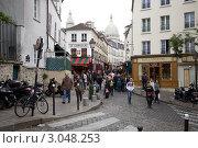 Купить «Франция. Париж. Монмартр», фото № 3048253, снято 8 октября 2011 г. (c) Яна Королёва / Фотобанк Лори