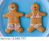 Купить «Имбирное печенье- человечки в купальниках», фото № 3049717, снято 2 ноября 2007 г. (c) Monkey Business Images / Фотобанк Лори