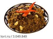 Купить «Восточная кухня. Плов», фото № 3049849, снято 18 сентября 2011 г. (c) Юлий Шик / Фотобанк Лори